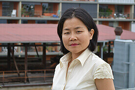 Lehrerin Lin Ying