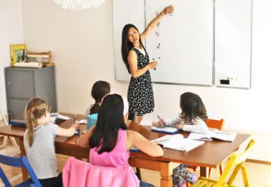 Chinese lessons for children and teenagers